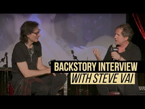 BackStory Presents: Steve Vai Live from The Cutting Room