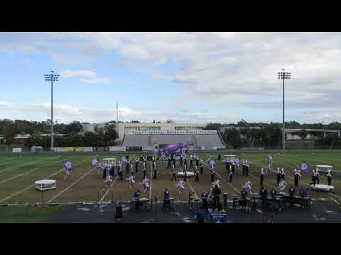 Northside Christian's Marching Band @ 2017 Tarpon Springs Outdoor Music Festival - part 1 of 3