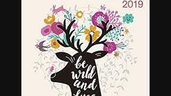 2019 A Smile a Day Calendar   30 x 30 cm  teNeues Calendars & Stationery  Livres anglais et étranger
