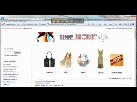 How To Create Your Own Ebay Store Custom Header Youtube