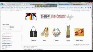 كيفية إنشاء الخاصة بك على موقع ئي بأي متجر رأس مخصص