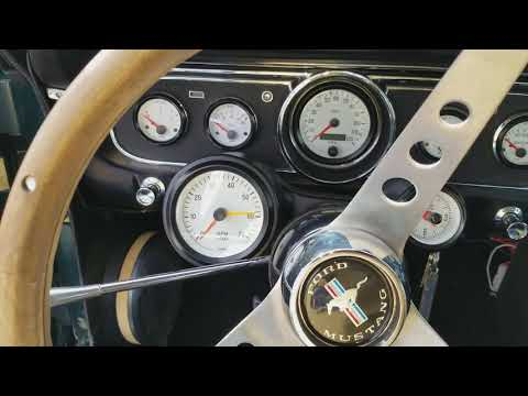 64  65 66 Mustang Modified Upgraded Gauges
