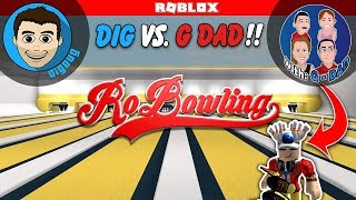 Roblox Bowling with GDad!! Getting the Strike Crown in Roblox RoBowling Event G-Rated Family Gaming