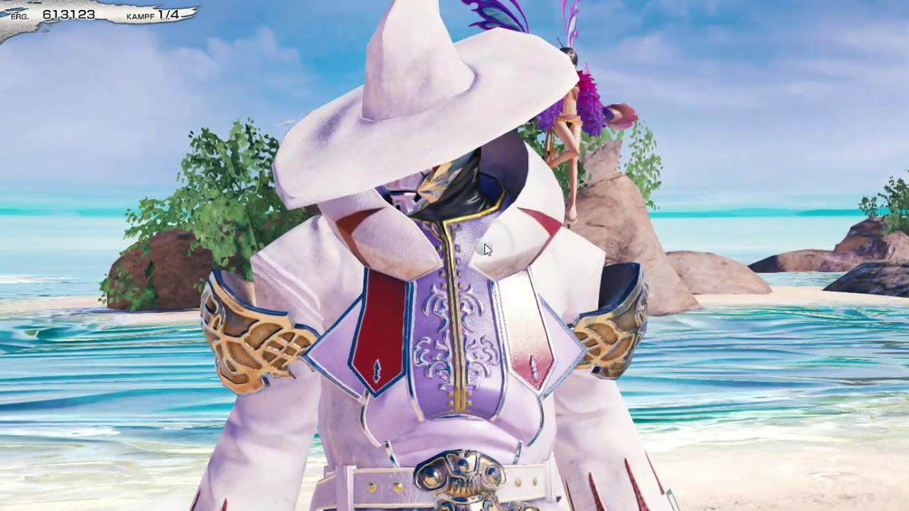 Mobius Final Fantasy Summer Resort Beach Really Mage Part 2