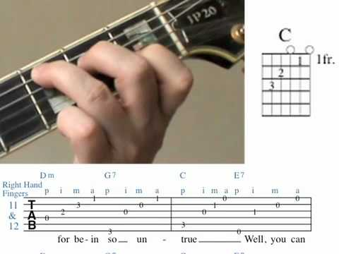 Cry me a River Guitar Lesson Chords measures 11&12.mov - YouTube