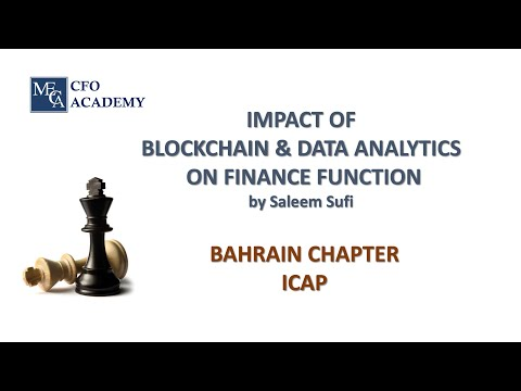Impact of Blockchain and Data Analytics on Finance Function