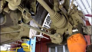 Замена сайлентблоков задней подвески 1часть  Toyota Mark II Тойота Марк 2 JZX 101 1998 года