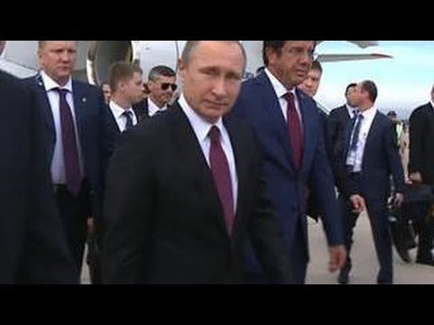 """Владимир Путин прибыл на саммит """"двадцатки"""" в Турцию"""