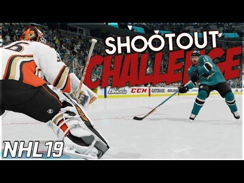 NHL 19 SHOOTOUT CHALLENGE #2 *SICK GOALS EDITION*