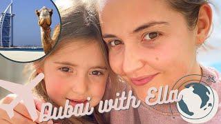 Dubai with my beautiful Ella O!