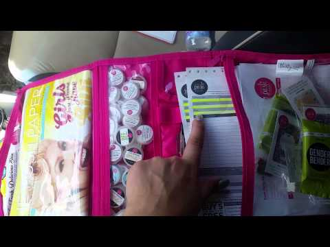 My Perfectly Posh portable party bags