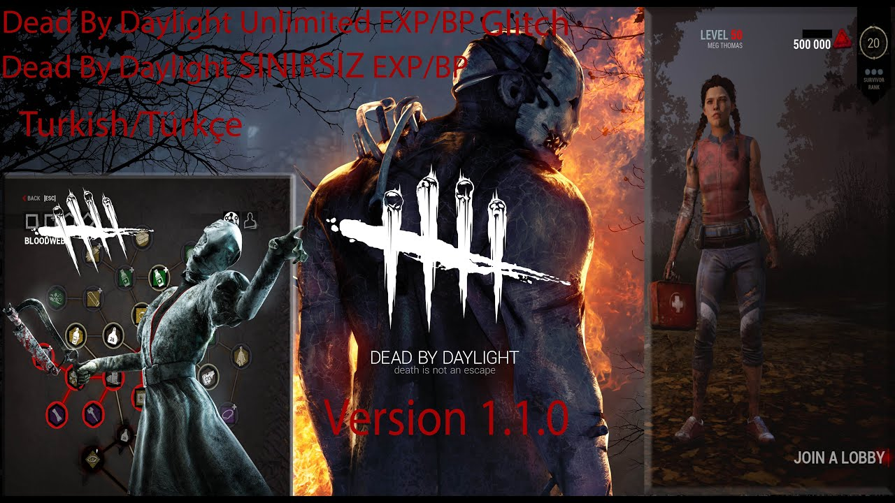 Dead By Daylight Unlimited Exp/BloodPoints Türkçe How To EAC
