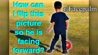 r/Facepalm | INSOLENT PARASITE OF A CHILD