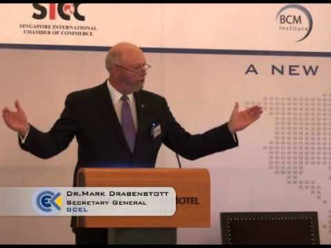 GCEL -- Singapore Event - Dr. Mark Drabenstott (GCEL Secretary General) 1/3