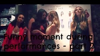 Little Mix - Fails, funny and sexual singing moments (part 2)