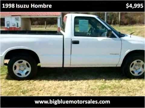 1998 Isuzu Hombre Available From Big Blue Motor Sales