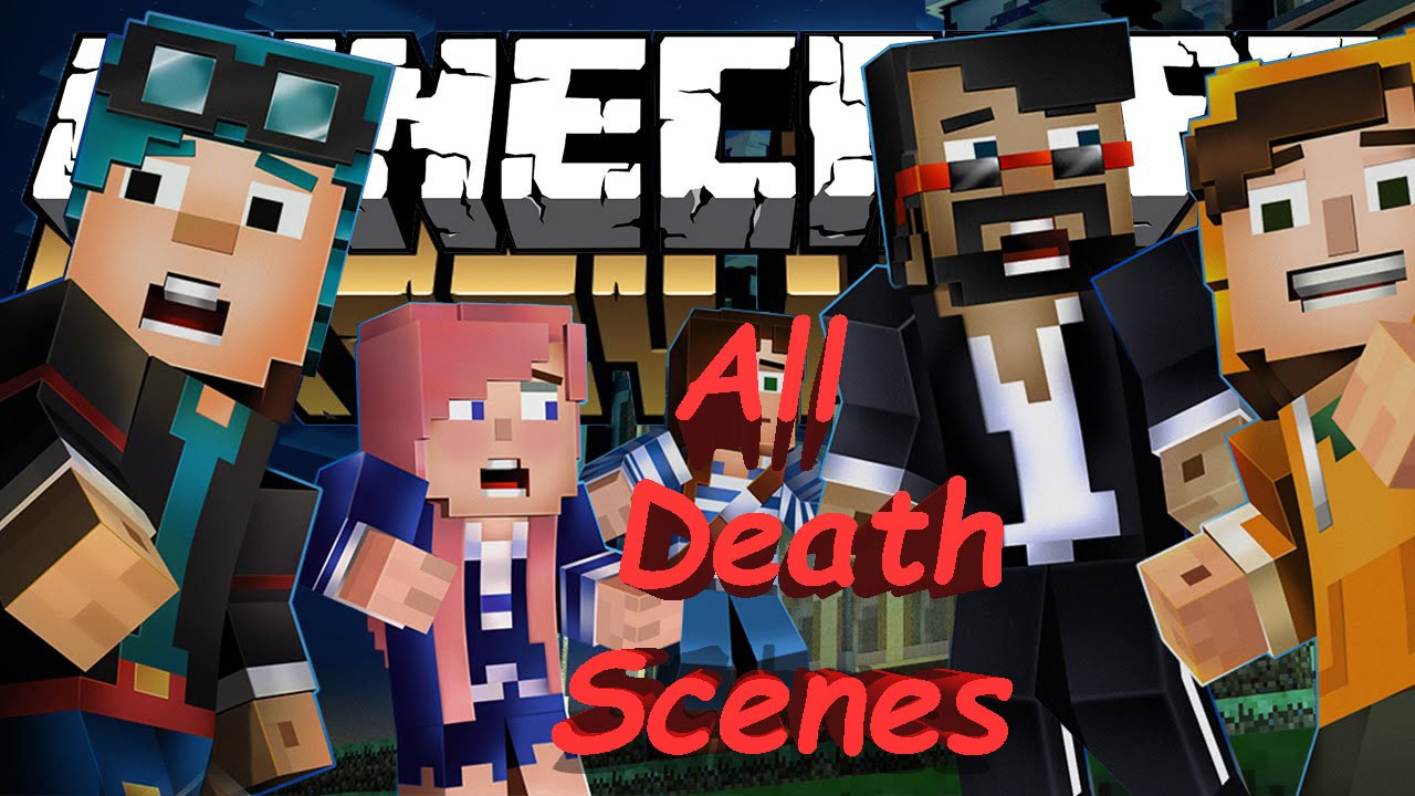Minecraft Story Mode Episode 6 A Portal To Mystery All Youtubers