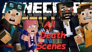 Minecraft: Story Mode Episode 6 A Portal To Mystery: All Youtubers