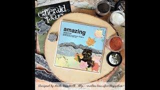 Emerald Creek Craft Supplies - Amazing Anniversary Card!