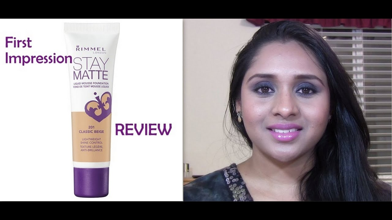 Stay Matte Foundation 203 Sand Rimmel London Mousse Review For Oily Skin