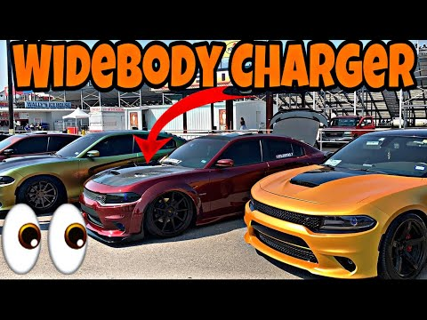 1st Dodge Charger Widebody In Texas/ Tons Of More Crazy Cars At Lone Star Mopar Fest