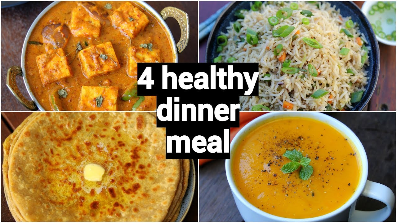 4 Healthy Quick Dinner Recipes Easy Dinner Party Recipe Ideas
