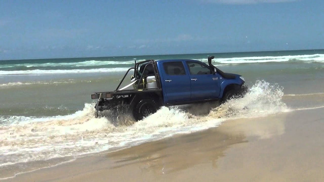 Crossing Eli Creek Fraser Island