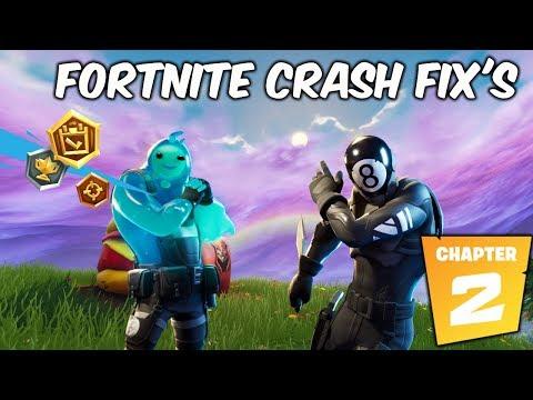 FIX FORTNITE CHAPTER 2 / CRASHING/FREEZING (ALL GAME ERRORS FIX)
