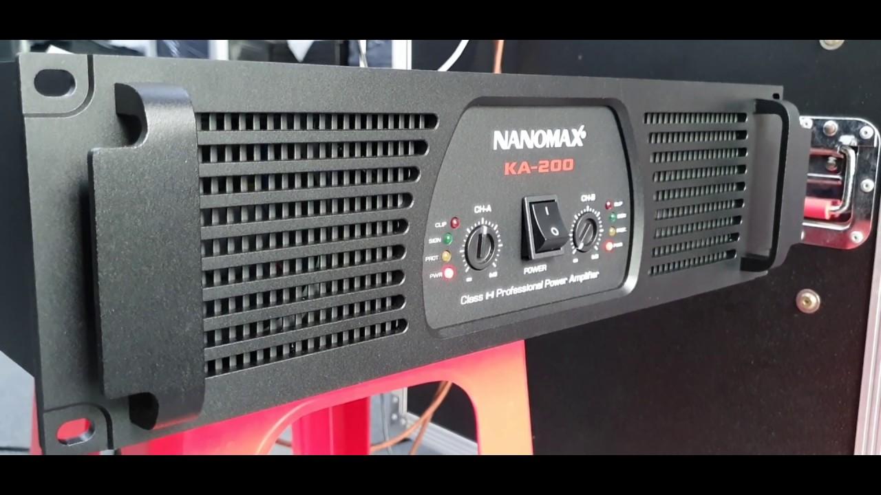 Tiếp tục Test và gửi khách Huế, Nanomax Ka-200 Chuyên Sub, giá chỉ: 9tr7/con - 0901139401 Vinh Hồ