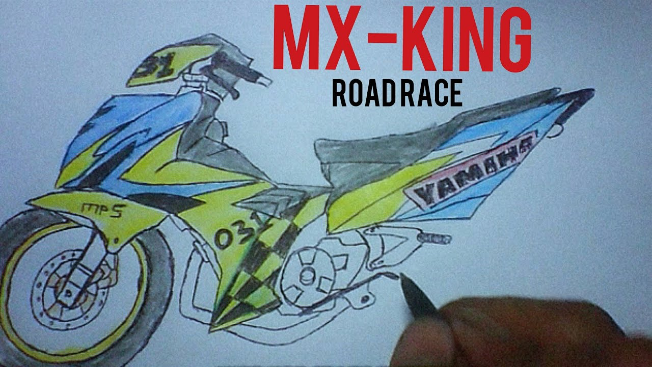 GAMBAR JUPITER MX KING ROAD RACE