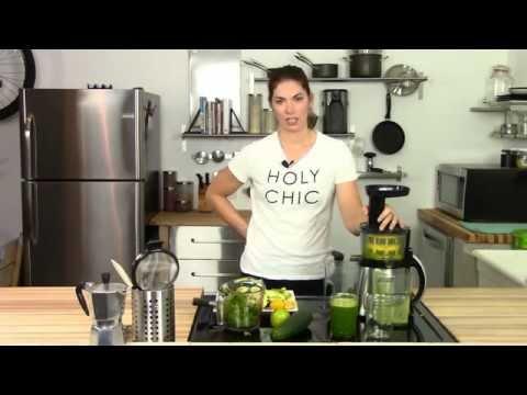 "Vegetable Juice Recipes: The Best ""Beginner"" Green Juice"