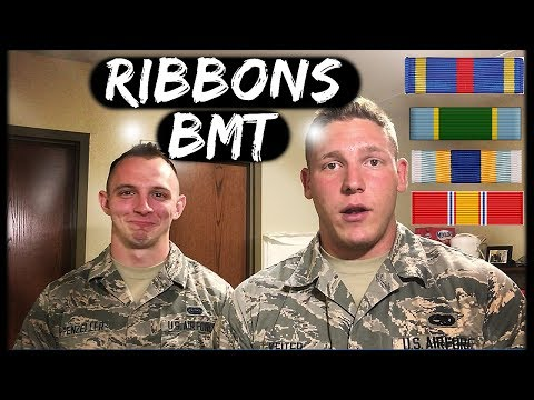 AIR FORCE BASIC TRAINING - All Ribbons Discussed