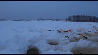 Зимняя рыбалка на Шабзерском озере