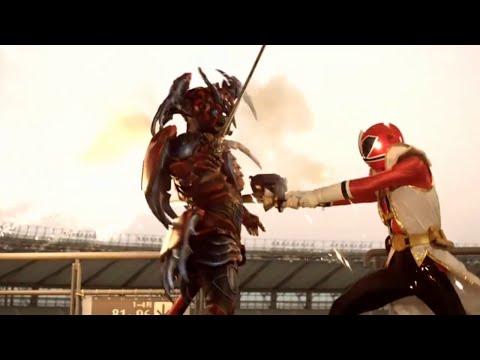 Shinken Red vs chimatsuri no buredoran - Takeru secuestrado | Sentai Goseiger vs. Shinkenger [1]