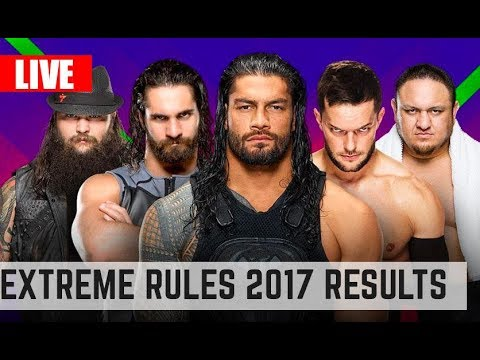 Extreme Rules live results 2017 , Titles change hand , who's the #1 contender ?