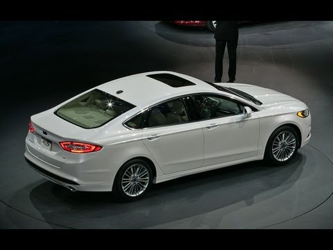 2013 Ford Fusion: 2012 Detroit
