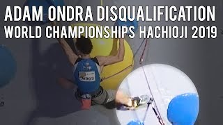 Adam Ondra about his disqualification at the World Championships Hachioji 2019