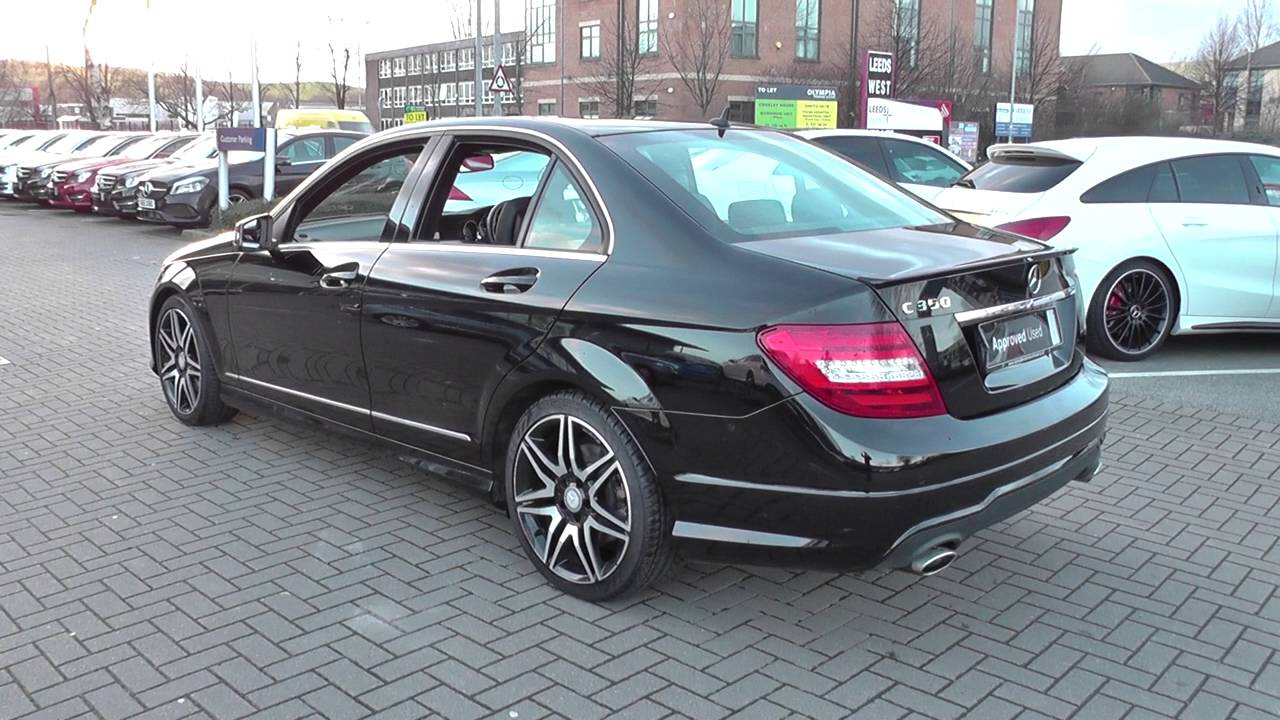 mercedes benz c class c350 cdi blueefficiency amg sport plus 4dr auto u24637 youtube. Black Bedroom Furniture Sets. Home Design Ideas