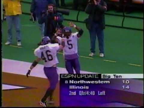 Illinois vs. Northwestern 1995