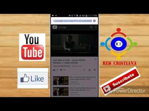 Como bajar vídeos cristianos para android sin instalar aplicaciones 2016