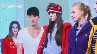 FILA Spring/Summer 2013 Fashion Show in Shanghai | FashionTV CHINA Thumbnail