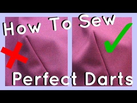 How to Sew Darts | Beginner & Advanced