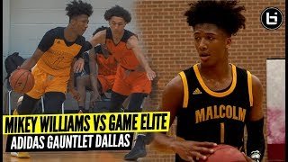 8th Grade Mikey Williams Battles vs Older Squad at  Adidas Gauntlet!! Magic vs Game Elite