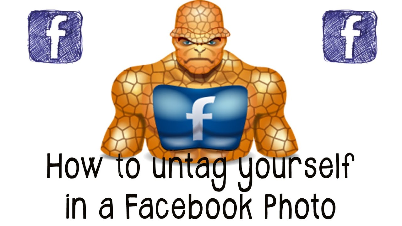 To untag how facebook on photos