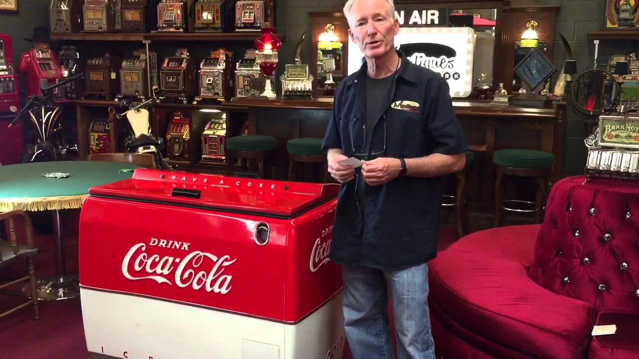 Coca-Cola Coke Westinghouse WE6 cooler box for sale