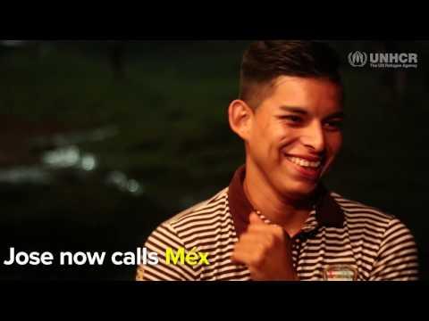 Jose now calls Mexico home, after fleeing El Salvador's gangs