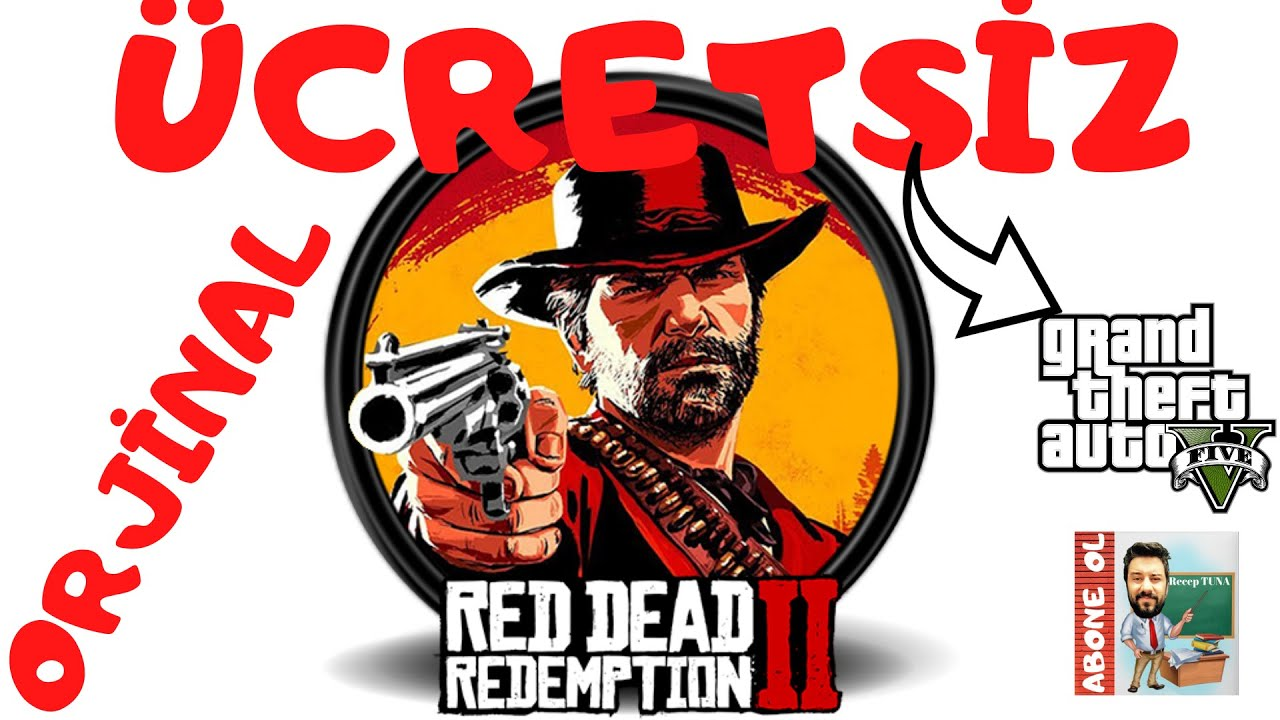 GTA 5 ÜCRETSİZ RED DEAD REDEMPTİON 2 YASAL !!!  CRAKS & TORRENT DEĞİL ORJİNAL VE 60 TL KUPON FIRSAT