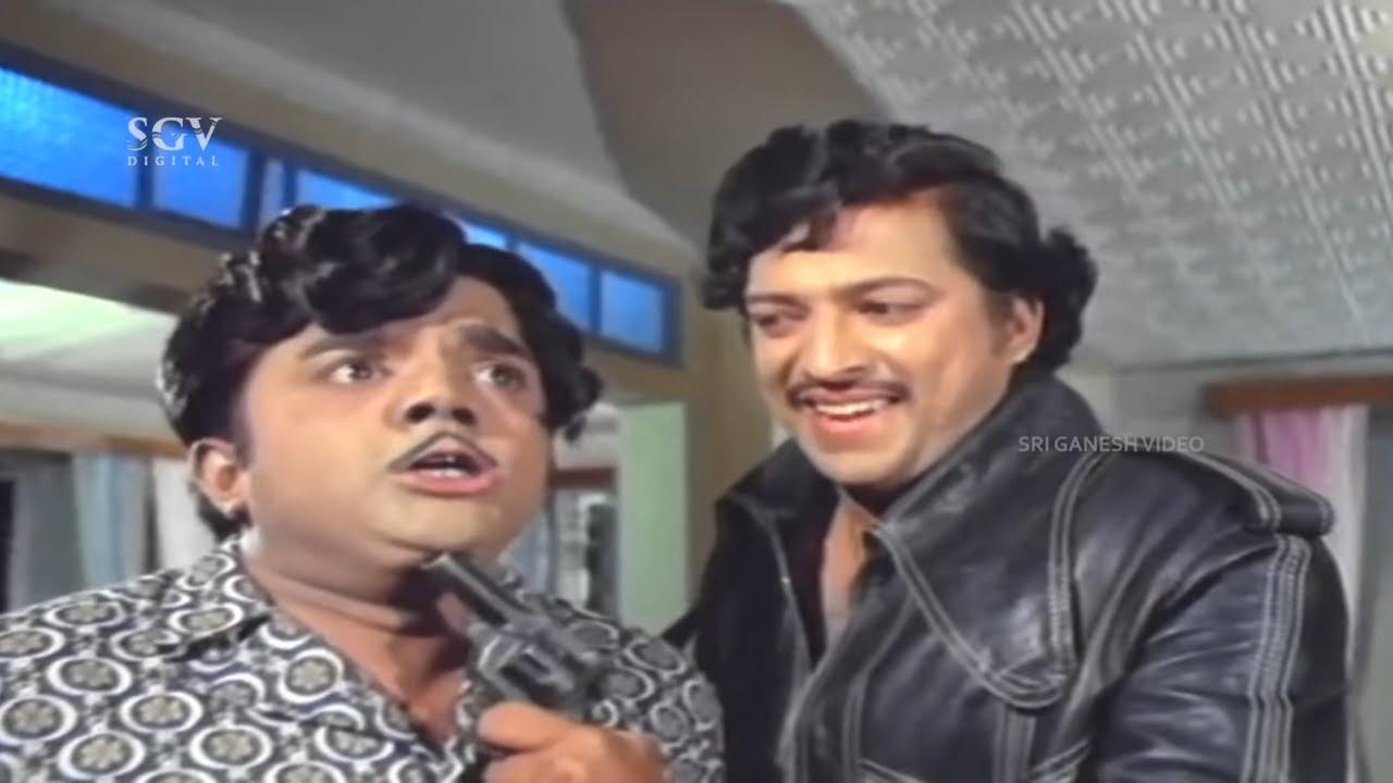 Kalla Kulla | Full Kannada Movie | Dr.Vishnuvardhan | Dwarakish | Vajramuni | Old Comedy Drama Movie