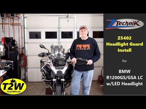 T2W - ZTechnik Headlight Guard (Z5402) for BMW R1200 GS/GSA LC