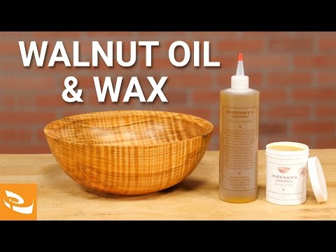 Applying a Food-Safe Wood Finish with Mahoney's Walnut Oil & Wax